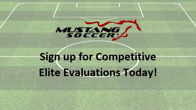 2019 Competitive Elite Evaluation Schedule